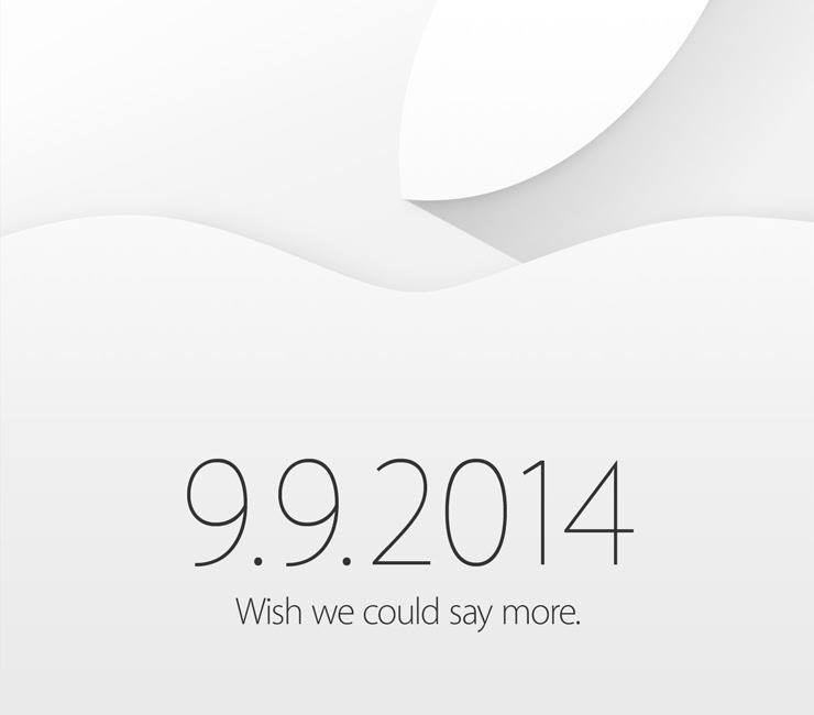 Apple Invite Event 9.9.2014